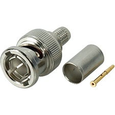 Kings 2065-10-9 Single 75 Ohm BNC Plug 2065-10-9