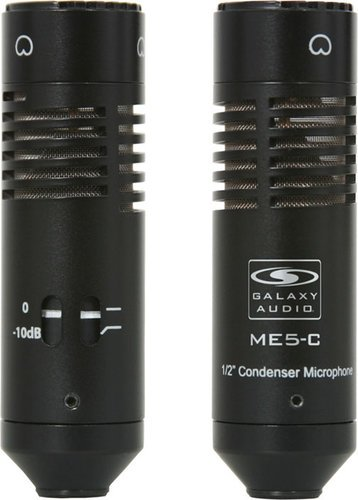 "Galaxy Audio CBM-524 Carbon Boom Mic w/24"" Floor Stand CBM-524"
