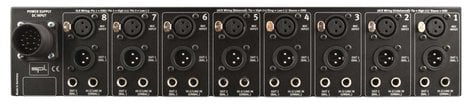 SPL Sound Performance Lab Gain Station 8 Eight Channel Microphone and Instrument Preamplifier GAIN-STATION-8-MK2