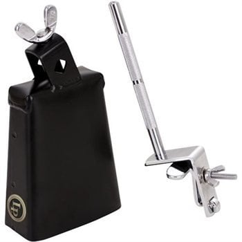 Latin Percussion LP20NY-K City Cowbell with Gibraltar Bass Drum Mount LP20NY-K