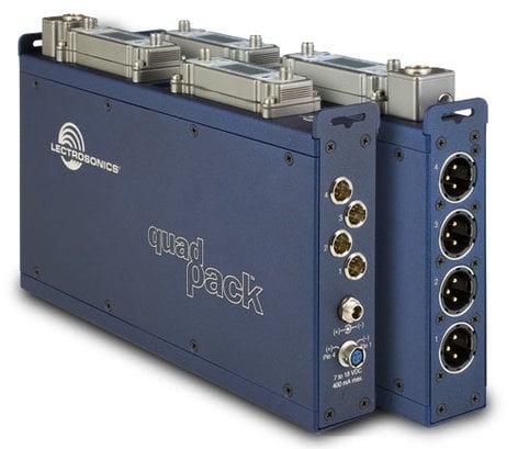 Lectrosonics Quadpack Dock for (2) SRA/SRA5P Receivers QUADPACK
