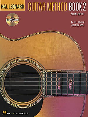 Hal Leonard 00697313 Guitar Method Book 2 w/CD 00697313