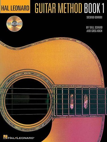 Hal Leonard 00699027 Guitar Method Book 1 w/CD 00699027