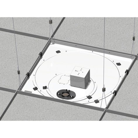 Chief Manufacturing CMS445P  Replacment Ceiling Kit, w/Power Outlet Conditioner CMS445P