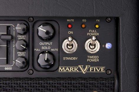 Mesa Boogie Ltd Mark V 90W 3-Ch Tube Guitar Amplifier Head MARK-V-HEAD