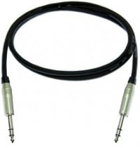 Pro Co BP1.5-PROCO 1.5 ft. TRS-TRS Audio Patch Cable BP1.5-PROCO
