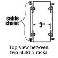 Middle Atlantic Products 5CC-37 Cable Chase Kit (for 5-37 Rack) 5CC-37