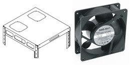 Middle Atlantic Products AXS-FAN-K AXS Series Fan Kit AXS-FAN-K