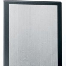 Middle Atlantic Products LVFD-12 12-Space Front Rack Door, Large Perforation Venting LVFD-12