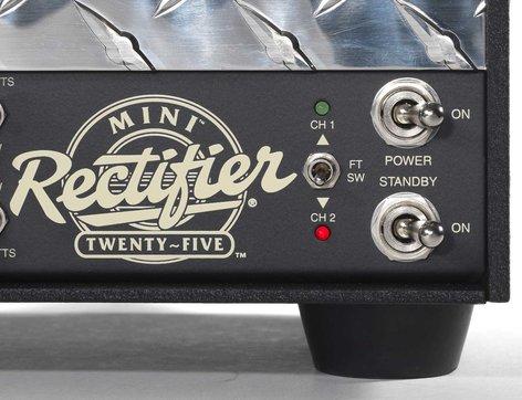 Mesa Boogie Ltd Mini Rectifier Twenty Five 25W 2 Channel Tube Guitar Amplifier Head MINI-RECTIFIER-25