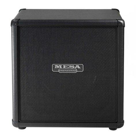 """Mesa Boogie Ltd MINI-RECTO-STRAIGHT 1x12"""" 60W Mini-Rectifier Straight Guitar Speaker Cabinet MINI-RECTO-STRAIGHT"""