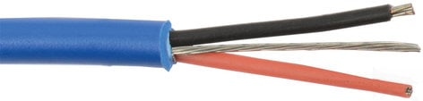 Liberty AV Solutions 22-1P-CMP-EZ-BLK 1000 ft Reel of Plenum Qwikstrip 22/1P Balanced Audio Cable in Black 22-1P-CMP-EZ-BLK