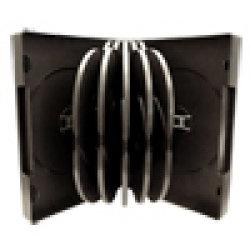 American Recordable Media DVDB-10-O/B  10Disc DVD Album, with Overwrap, Black DVDB-10-O/B