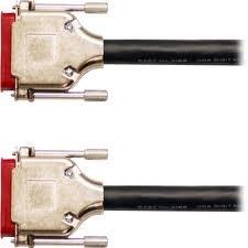 Mogami GOLDAESYTDDB25DB2515 15 ft. 8-Channel DB25 - DB25 Gold AES Digital I/O Cable (for AES I/0 to Pinout Machine) GOLDAESYTDDB25DB2515