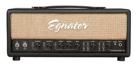 Egnater Custom Amps Tweaker 40 40W 2-Channel Tube Guitar Amplifier Head TWEAKER-40-HEAD