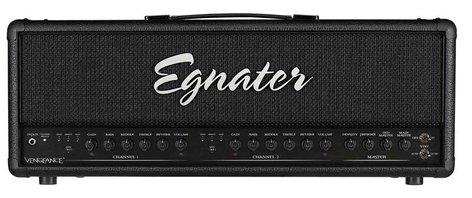 Egnater Custom Amps Vengeance 120W 2-Channel Tube Guitar Amplifier Head VENGEANCE