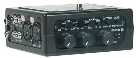 Azden FMX-DSLR  Mixer, for DSLR, 2 XLR In FMX-DSLR