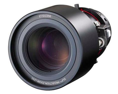 Panasonic ET-DLE350 3.7-5.6:1 Power Zoom Lens for PT-D6000, PT-D5700/PT-DW5100/PT-D4000 Series Projectors ETDLE350