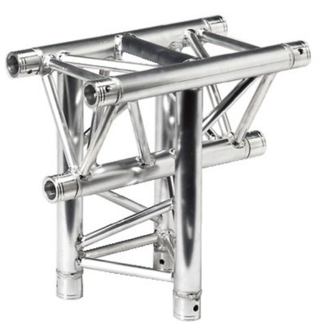 Global Truss TR4096H-I 3 Way Horizontal T-Junction, 1.64 ft Apex In TR4096H-I