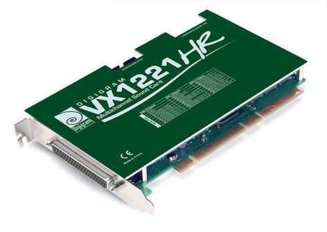 Digigram VX1221HR  PCI Sound Card w/ 6 outputs VX1221HR