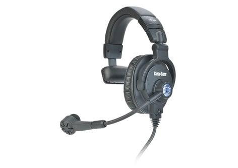 Clear-Com CC-300-X4 Single-Ear Headset with 4-Pin XLR-F Connector CC-300-X4