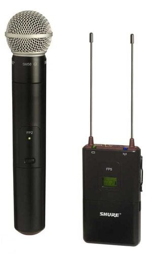 Shure FP25/SM58-J3 FP Wireless System with the SM58, 572-596 FP25/SM58-J3