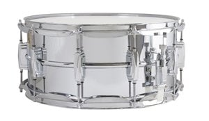 "Ludwig Drums Supra-Phonic 400 6.5x14"" Snare Drum 400 Series Chrome Snare Drum LM402"