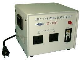 Philmore ST1000 1000 Watt Step Up/Step Down Transformer (110v/220v) ST1000-PHILMORE