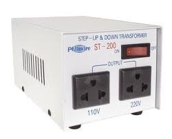 Philmore ST200-PHILMORE 200 Watt Step Up/Step Down Transformer (110v/220v) ST200-PHILMORE