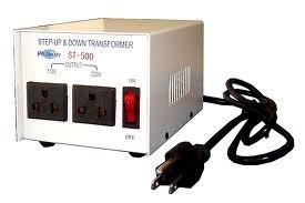 Philmore ST500-PHILMORE 500 Watt Step Up/Step Down Transformer (110v/220v) ST500-PHILMORE