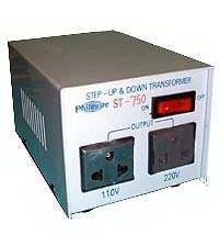 Philmore ST750 750 Watt Step Up/Step Down Transformer (110v/220v) ST750