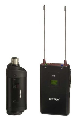 Shure FP35-H5 FP Wireless System with the FP3 Plug-On Transmitter, 518-542 FP35-H5