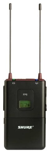Shure FP5-G4 Portable Wireless Receiver, 470-494 FP5-G4