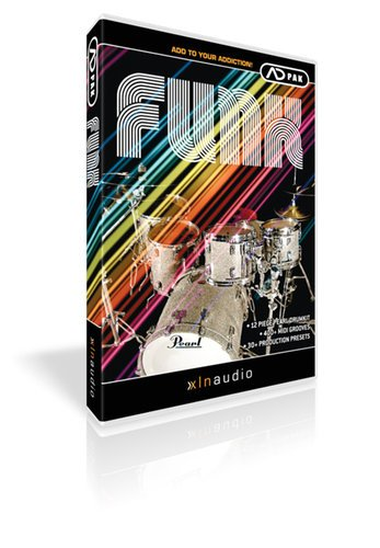XLN Audio ADPACK-FUNK Funk Add-On Pack for Addictive Drums ADPACK-FUNK