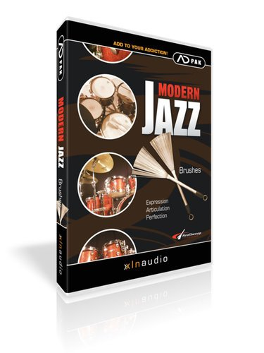 XLN Audio ADPACK Modern Jazz Brushes Modern Jazz Brushes Add-On Pack for Addictive Drums ADPACK-MODERN-JAZZ-B