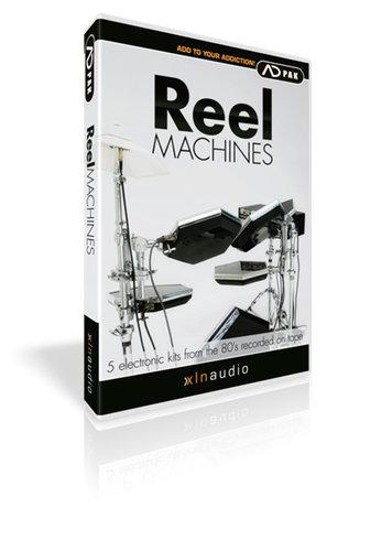 XLN Audio ADPACK-REEL-MACHINES Reel Machines Add-On Pack for Addictive Drums ADPACK-REEL-MACHINES