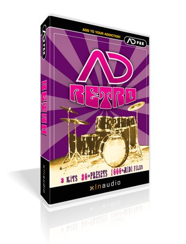 XLN Audio ADPACK-RETRO Retro Add-On Pack for Addictive Drums ADPACK-RETRO