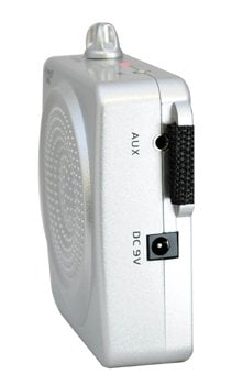 Pyle Pro PWMA50S  Silver Waistband PA Amplifier PWMA50S