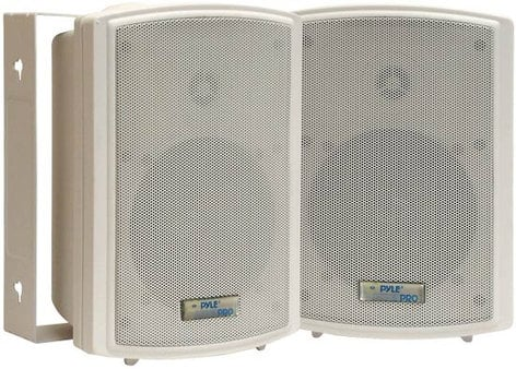 "Pyle Pro PDWR5T Pair of 5.25"" Indoor/ Outdoor Speakers in White PDWR5T"