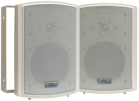 """Pyle Pro PDWR6T Pair of 6.5"""" Indoor/ Outdoor Speakers in White PDWR6T"""