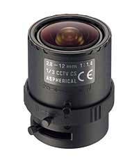 Tamron 13VM2812ASII 2.8-12mm Manual Iris Lens, Varifocal, CCTV 13VM2812ASII