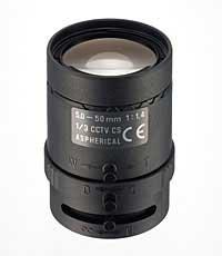 Tamron 13VM550ASII 5-50mm F/1.4 Manual Lens, CCTV 13VM550ASII