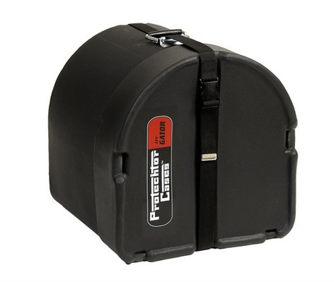 """Gator Cases GP-PC1414 14""""x14"""" Classic Series Roto-Molded Tom Case by Protechtor GP-PC1414"""