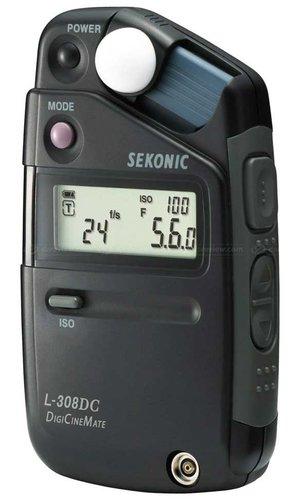 TecNec L-308DC  Sekonic DigiCineMate Light Meter for DSLR L-308DC
