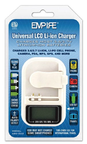 Empire Scientific USC-003  Universal Battery Charger  USC-003