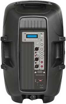 "Pyle Pro PPHP123MU  800W, 12"" Powered 2-Way PA Speaker with MP3/USB/SD/3.5mm Input PPHP123MU"