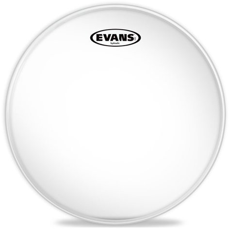 "Evans TT12HG 12"" Hydraulic Glass Clear Drum Head TT12HG"