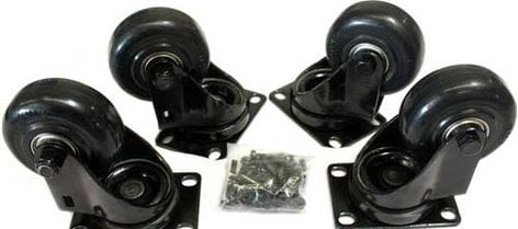 QSC KLA181 Caster Kit with 4 Wheels KLA181-CASTER-KIT