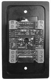 Doug Fleenor Designs DFDNET  Wall Plate, Distribution Isolator, 5-Pin DFDNET
