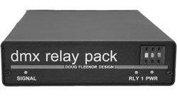 Doug Fleenor Designs DMX6REL1A Relay Pack 6 Relays, Low Voltage Output DMX6REL1A